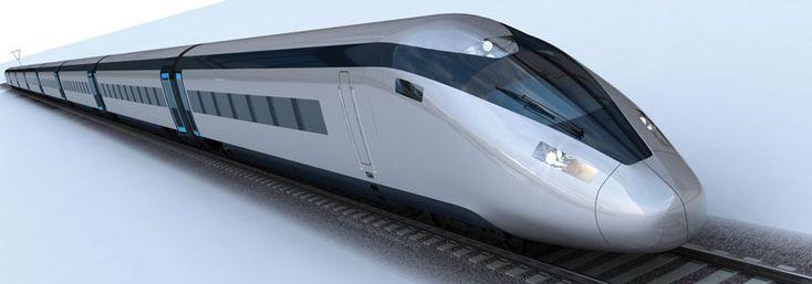 High Speed 2 (HS2) train