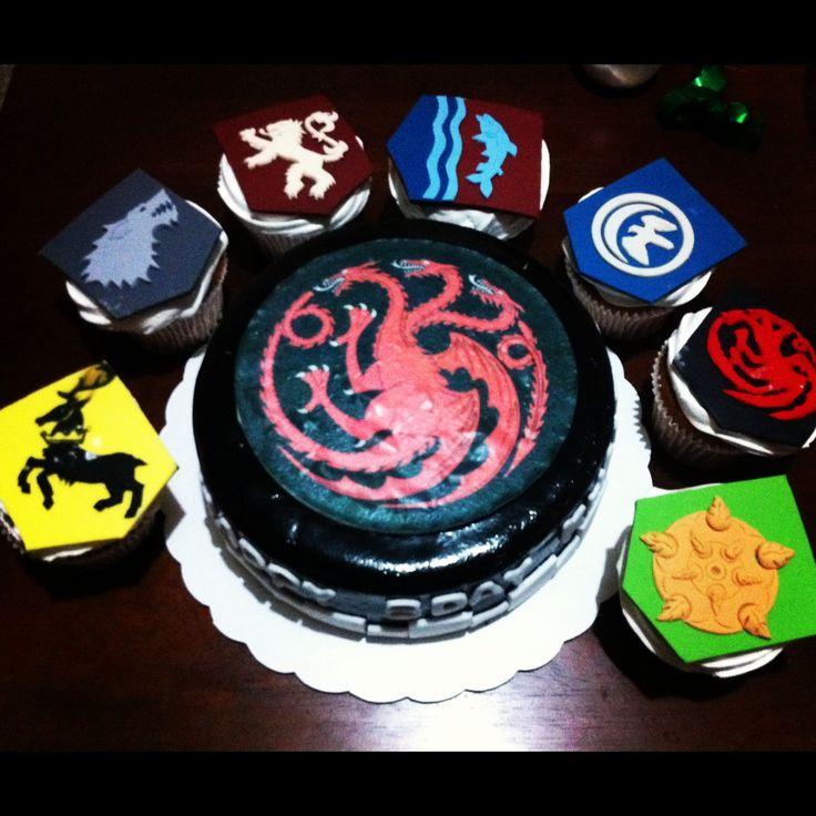 Game of thrones birthday cake birthday cake pinterest for Game of thrones birthday party
