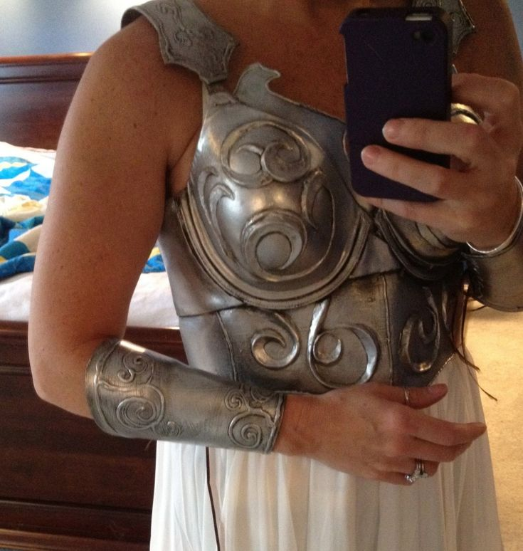 tutorial breastplate from a bra cosplay