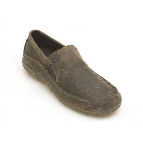 Men's casual leather slip-on from Caterpillar. Fantastic comfort wear.