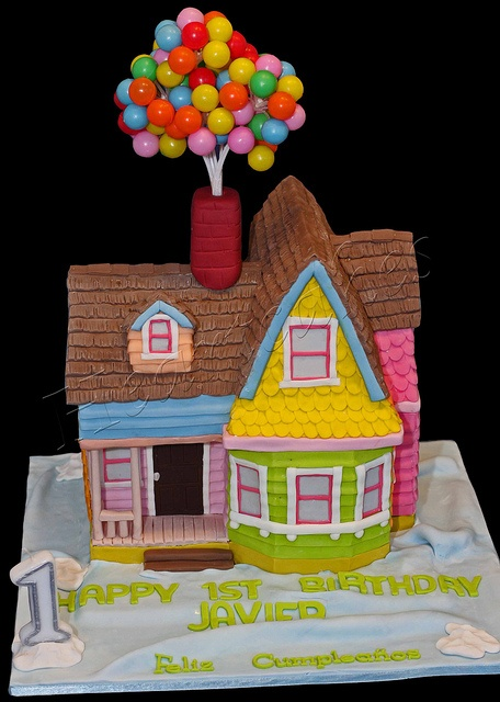 UP! house cake...I need this.