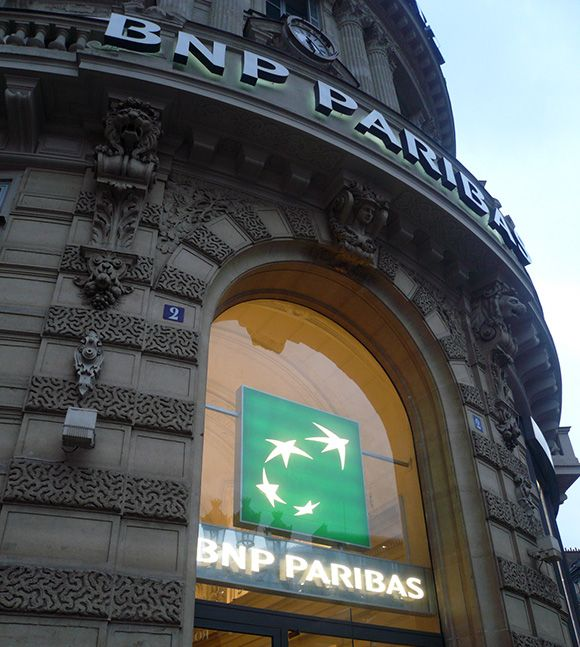 BNP Paribas in Paris France