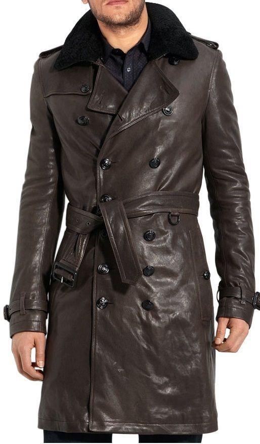 Best 10  Leather trench coat mens ideas on Pinterest | Belstaff ...