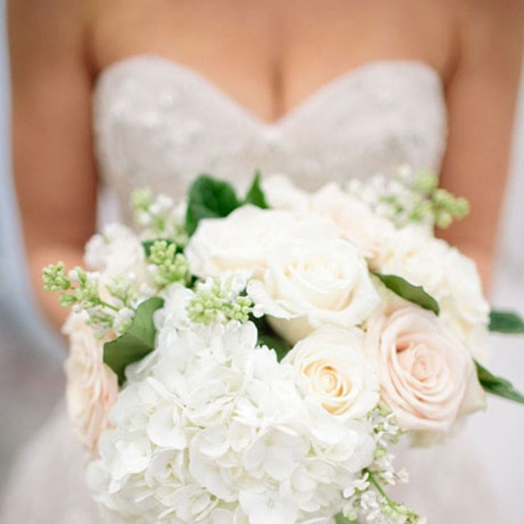 Hydrangea Wedding Bouquets | Brides