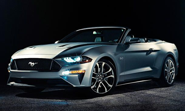 Ford Mustang Cabrio Facelift (2017)
