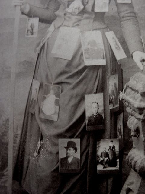 mysterious cabinet cards dress