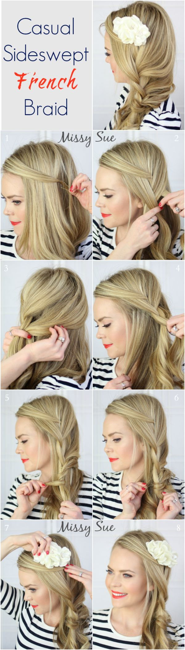 French braiding tips - French Braiding Tips 58