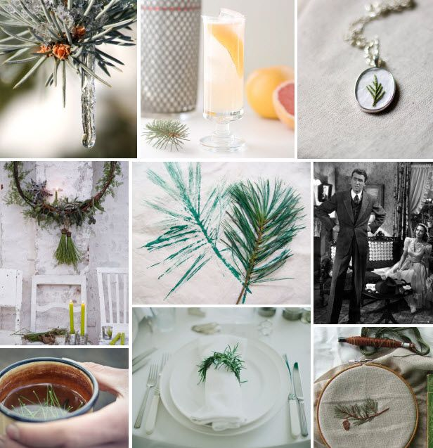 Mood Board Monday: Pine Needles (http://blog.hgtv.com/design/2013/12/23/mood-board-monday-pine-needles/?soc=pinterest): Scrapbook Ideas, Hgtv Design, Crafts Ideas, Holidays Ideas, Boards Mondays, Design Blogs, Craft Ideas, Blog Designs, Pine Needle