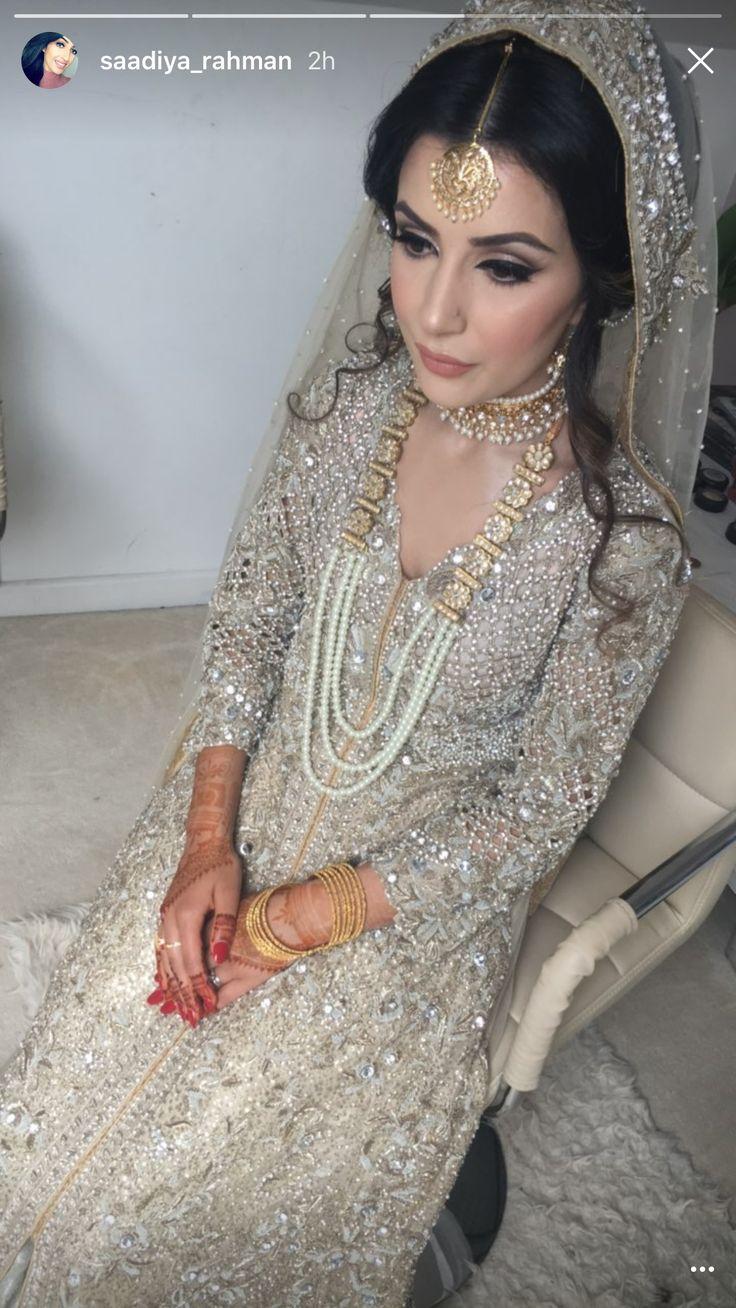 Worst makeup mistakes on your wedding indian bridal diaries - Bollywood Wedding Desi Wedding Bridal Outfits Bridal Dresses Pakistani Bridal Bridal Makeup Embroidery Saris Indian Fashion