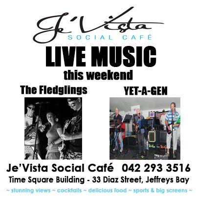 Live Music in September at Je'Vista Social Cafe