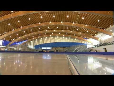 Green Roof, Gold Medals: Richmond Olympic Oval #olympics #richmondbc #oval