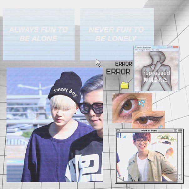 Suga, RM and V