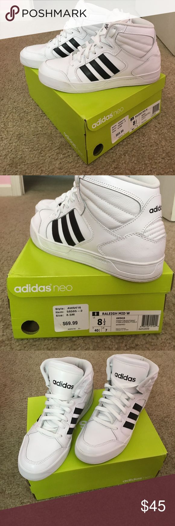 Adidas Neo High Tops Adidas Neo High Tops adidas Shoes Sneakers
