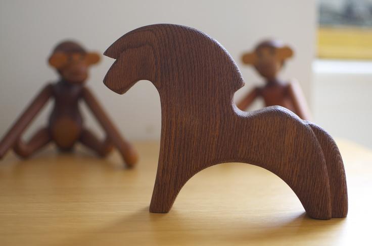 Norwegian Fjord Wooden Horse