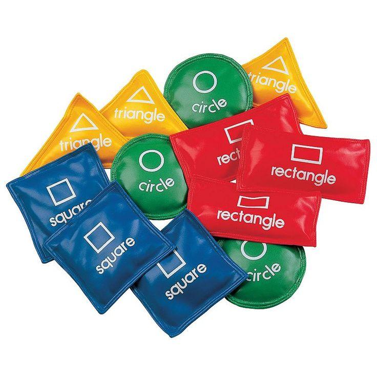 Champion Sports 12-pc. Geometric Bean Bag Set, Multicolor