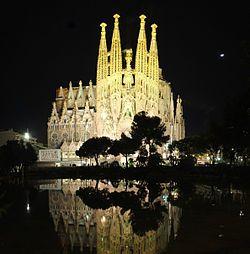 Barcelona, Искупительный храм Святого Семейства. Гауди 1882