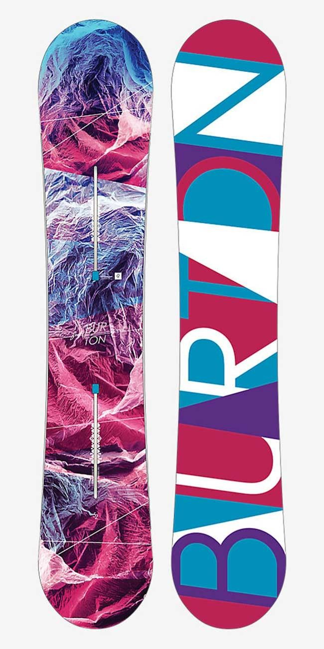 Love my board! Feelgood 144 Snowboard for women by Burton