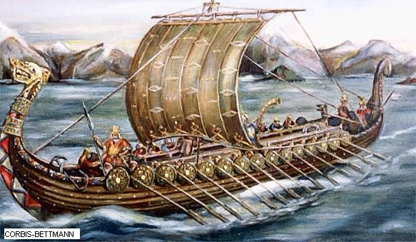 Vikings made many different types of ships. Vikings had made ships ...