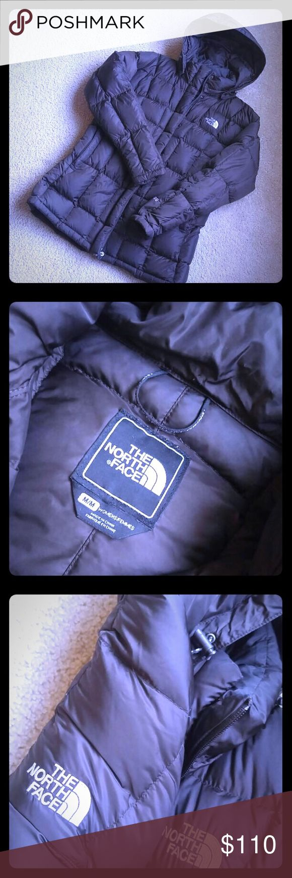 The North Face winter jacket in a woman's brown, M The North Face winter jacket in awesome like new condition! Size women's medium with hood. Dark brown. 600 down fill. Make me a reasonable offer. I'll sell. The North Face Jackets & Coats Puffers