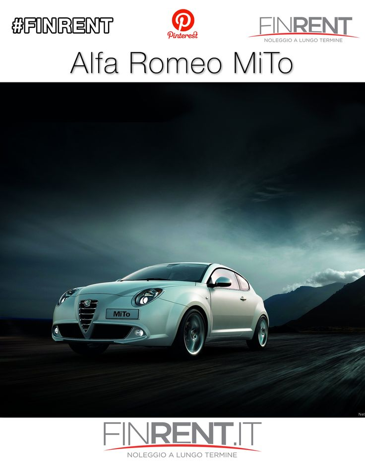 Alfa Romeo MiTo | Finrent.it http://www.finrent.it/alfa-romeo-mito-21520/ L'#AlfaRomeoMiTo è la compatta del Biscione più sportiva di sempre. Scopri #Alfa #MiTo su #Finrent