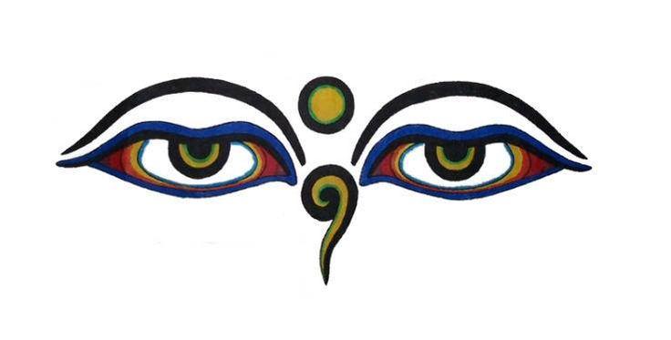 ГЛАЗА БУДДЫ Сакральный символ, который рекомендуется размещать в месте, где Вы проводите больше всего времени, и в комнате для медитации. Глаза Будды символизируют внутреннее духовное зрение, позволяющее видеть за пределами материальной природы вещей. Это духовное зрение заложено в каждом человеке, как и природа Будды. Ваш Габи Сатори, http://vedica.ru