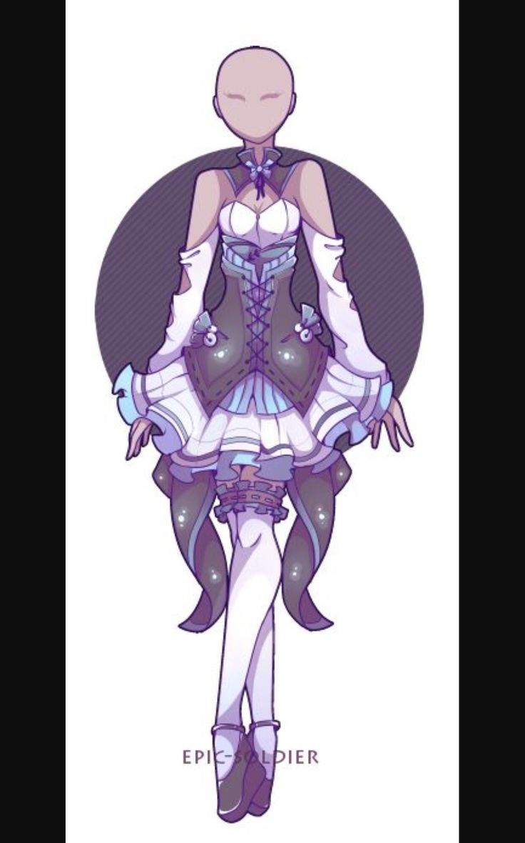 Teona (elegant) | Outfit | Pinterest | Anime Anime outfits and Drawings