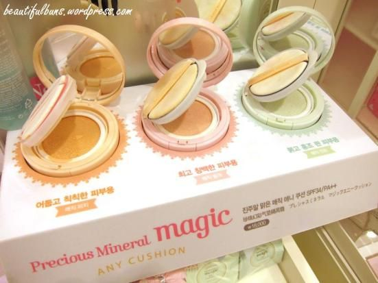 Presenting to you – the Etude House Magic Any Cushion! It comes in three variations to suit all sorts of skin tones.