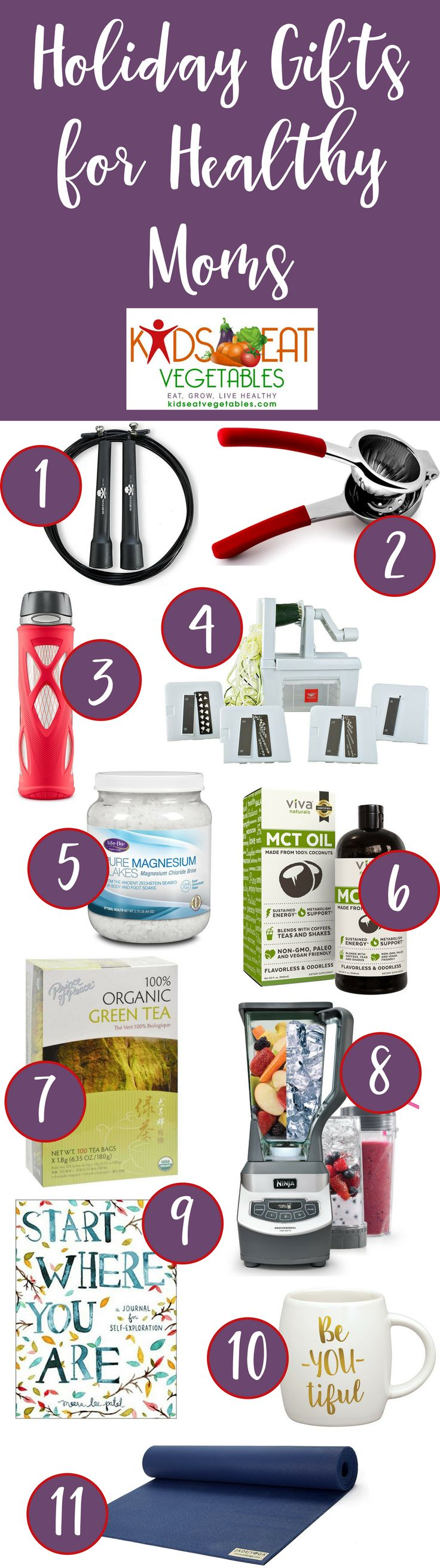holiday gifts for healthy moms