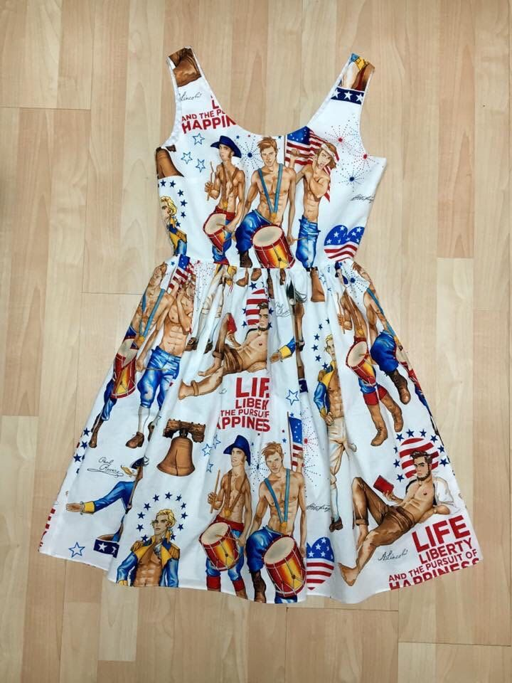 Founding Fathers Patriotic Dress by tagitgirl on Etsy https://www.etsy.com/transaction/1233742061