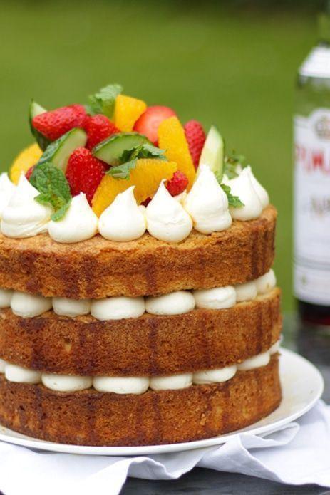 pimms cake recipe homemade cakes cake recipes cake summer