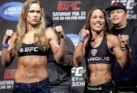Girl Power: Ronda Rousey and Liz Carmouche 2/23/13