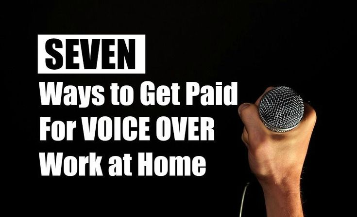 No need to go to an actual studio to do voice overs. Lots of people make extra money doing this from home. Some even consider it their full-time job. Here are a few places you can get started if voice over work interests you. Filmless - Hires freelance voice over artists worldwide. Job description says having your own studio is ideal, but not required. Fiverr - People are often searching Fiverr for voice over services. You can sign up as a Fiverr seller and list your voice over services, and…