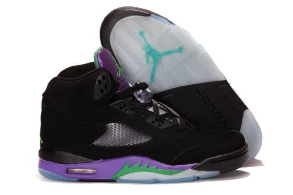 Air Jordan 5 V Retro A Black/Purple Men's shoes #Nike #Jordan #Shoes #Jordan5