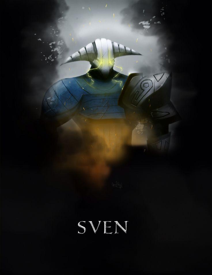 Sven Dota 2 poster