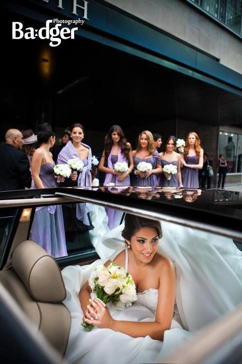 Queen elizabeth montreal wedding
