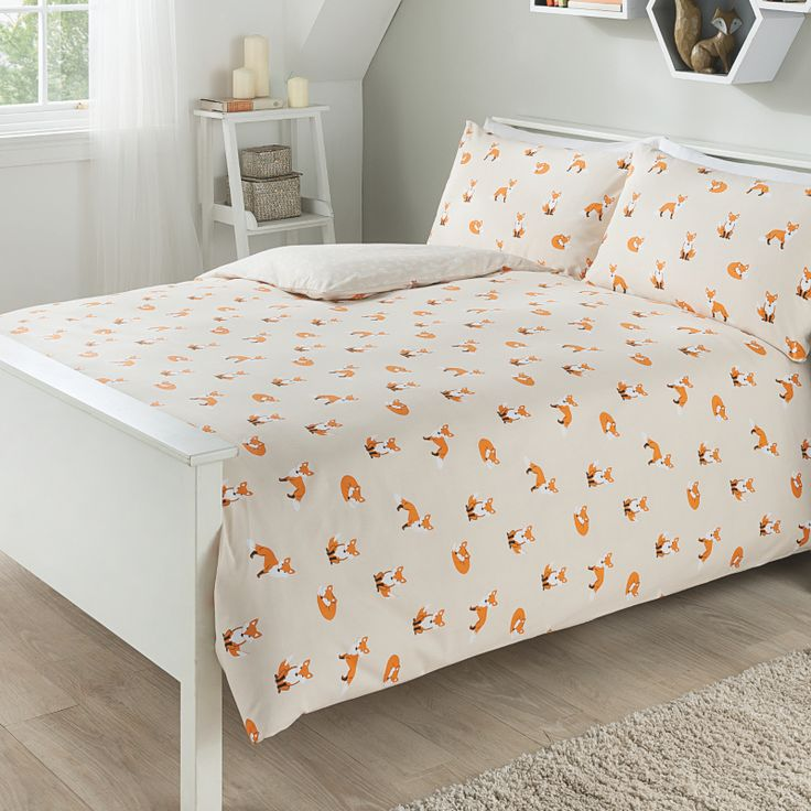 George Home Fox Print Duvet - £14