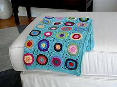 Ravelry: victoriaoc's Baby Bullseye Blanket
