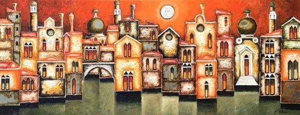 Elio De Pasco artista affermato - fluidofiume galleria d'arte Trieste