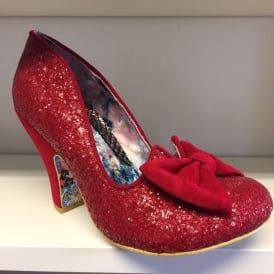 Nick Of Time Red Sparkly High Heel Shoes #red #sparkly #dorothy #shoes #WizardOfOz #irregular #choice #nickOfTime #eshoes