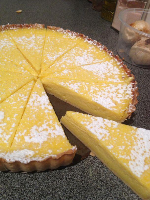 Baked Lime Tart