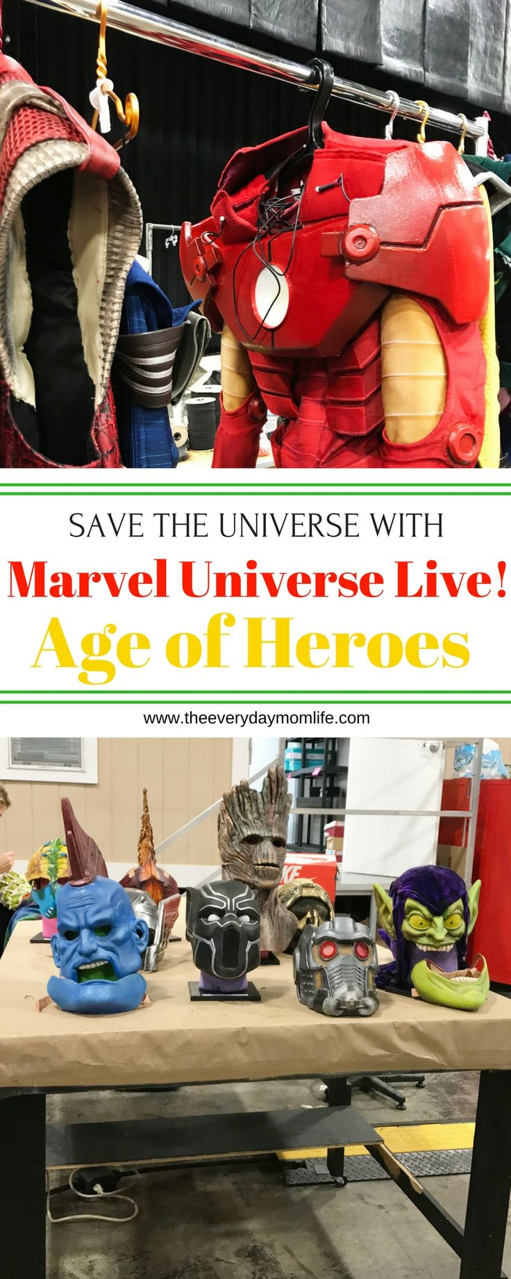 Take Off On A New Adventure With Your Favorite Super Heroes In Marvel Universe Live! Age of Heroes. Go behind the scenes and see what it takes to be a super hero. This is a fun family experience not to be missed. Perfect family entertainment. AD