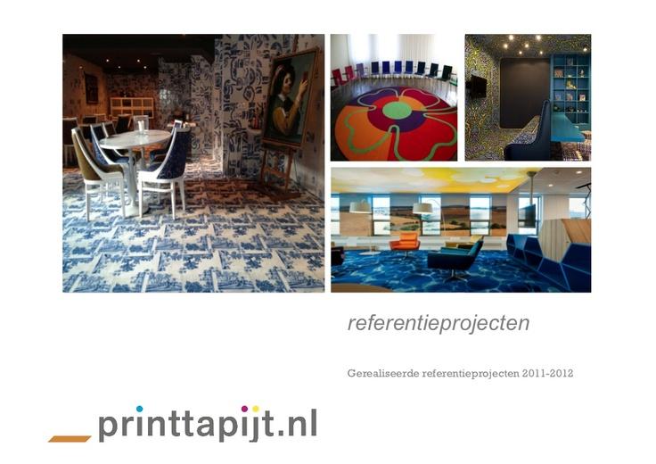 printtapijt-referenties by aboos004 via Slideshare