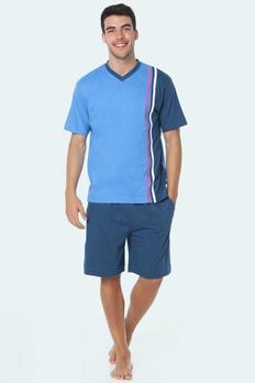 Pijama verano Punto Blanco modelo Vernazza, algodón