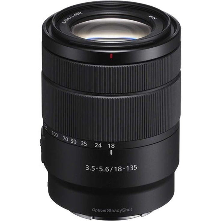 Sony 18 135mm F3 5 5 6 Oss Aps C E Mount Zoom Lens Sony Sony Camera Zoom Lens Sony E Mount