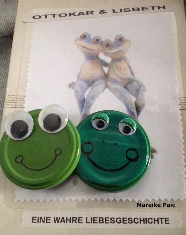 Eine Mitmachgeschichte von Mareike Paic Dafür braucht ihr viele Schraubdeckel. NachMöglichkeitfür jedes Kind einen Deckel. Di...