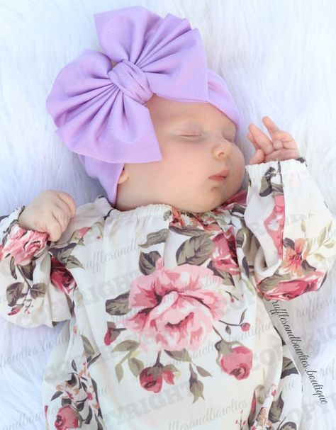 5ffcb8402101 Adorable Alma Long Sleeve Baby Girl Vintage Floral Romper - PRE ORDER