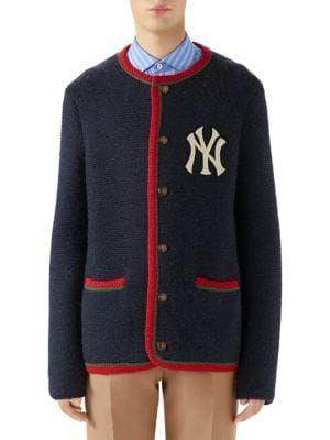 c0205192c71df GUCCI New York Yankees™ Cardigan.  gucci  cloth