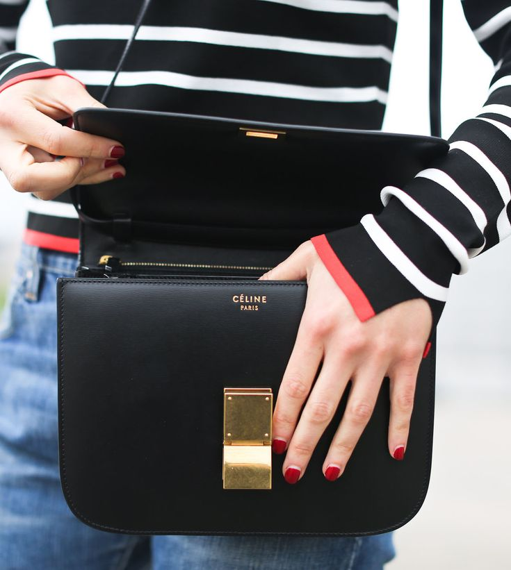 clochet fashion blog | celine classic box bag