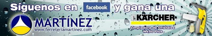 ¡Comienza e lunes!  Martinez Ferreteria, Bricolaje y Suministros nos ofrece su anuncio.  Visita nuestra tienda online y participa en nuestro sorteo en Facebook.  http://www.publite.com/ficha-empresa.php?id_empresa=17235