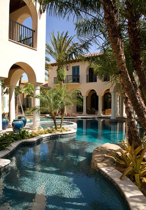 Luxury Homes With Pools best 25+ luxury pools ideas on pinterest | dream pools, beautiful